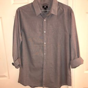 H&M Slim Fit Button Down Long Sleeve